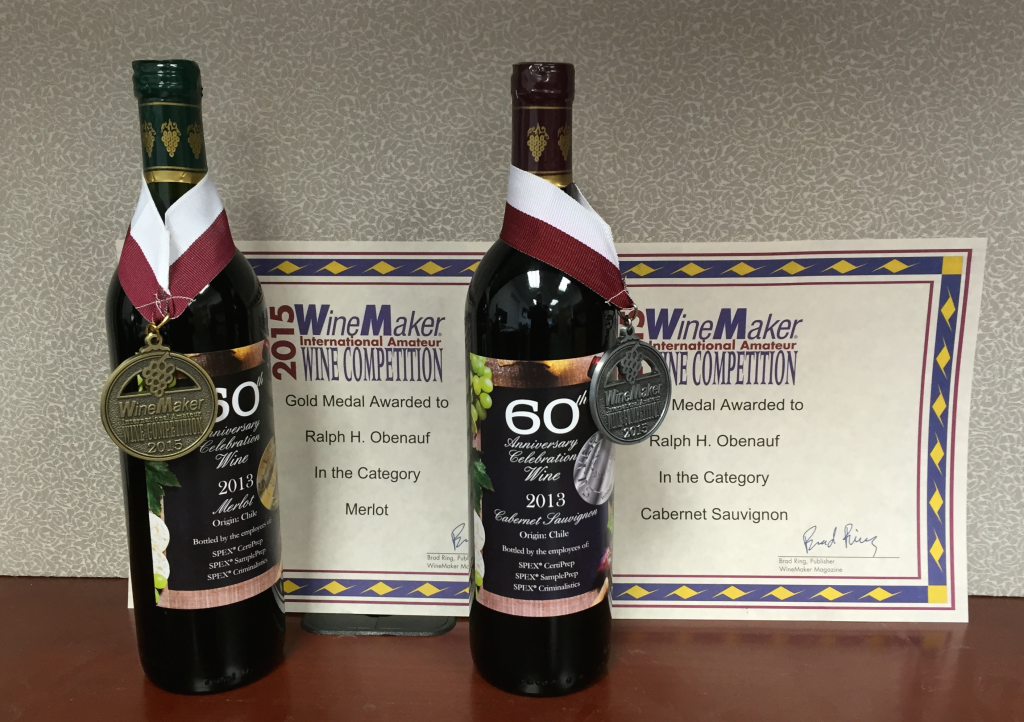 SPEX 60th Anniversary Wine Awards