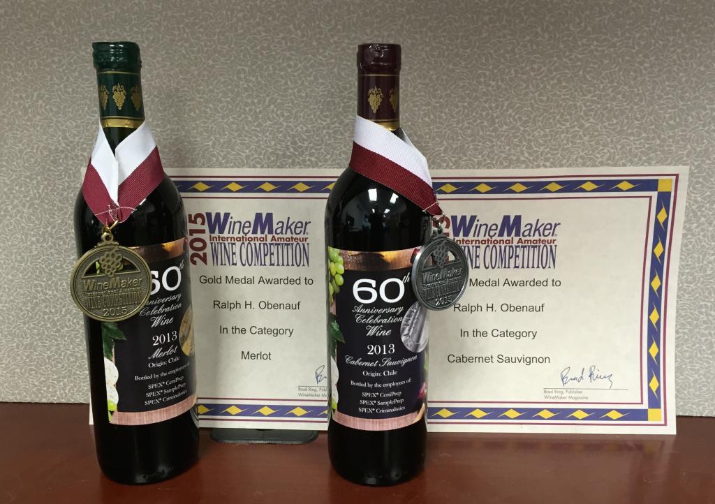 SPEX 60th Anniversary Wine Awards
