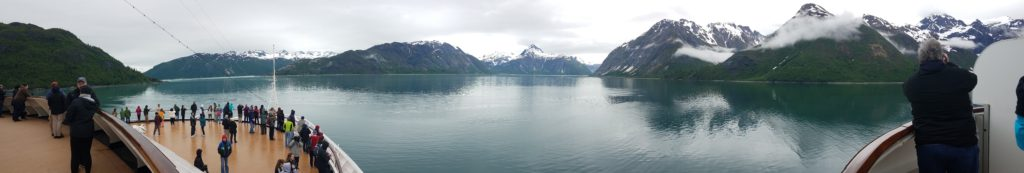 Sailing Into Glacier Bay