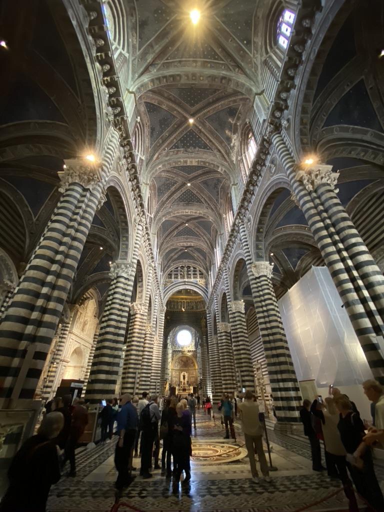 Sienna Cathedral del Santa Maria Main ceiling