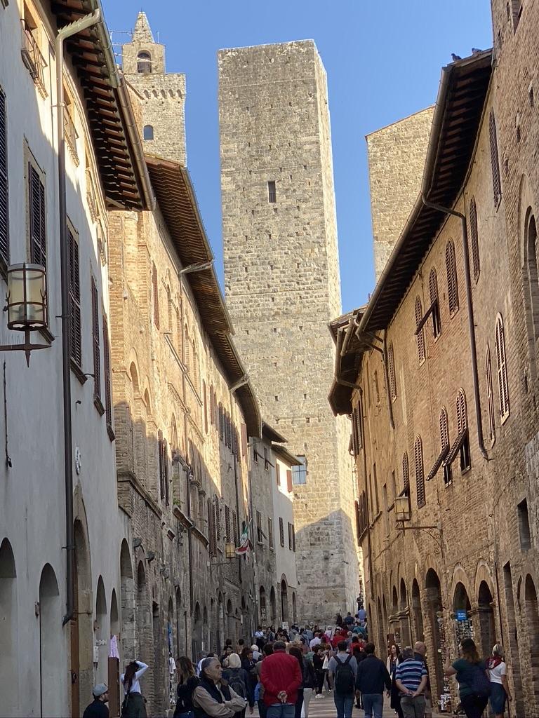 San Gimignano Main Street