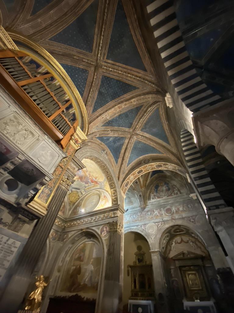 Duomo of Santa Maria Assunta San Gimignano Ceiling