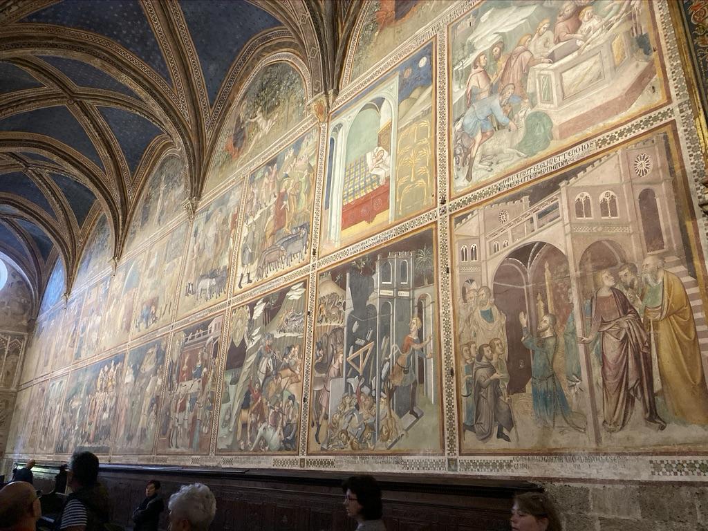 Duomo of Santa Maria Assunta San Gimignano Frescos