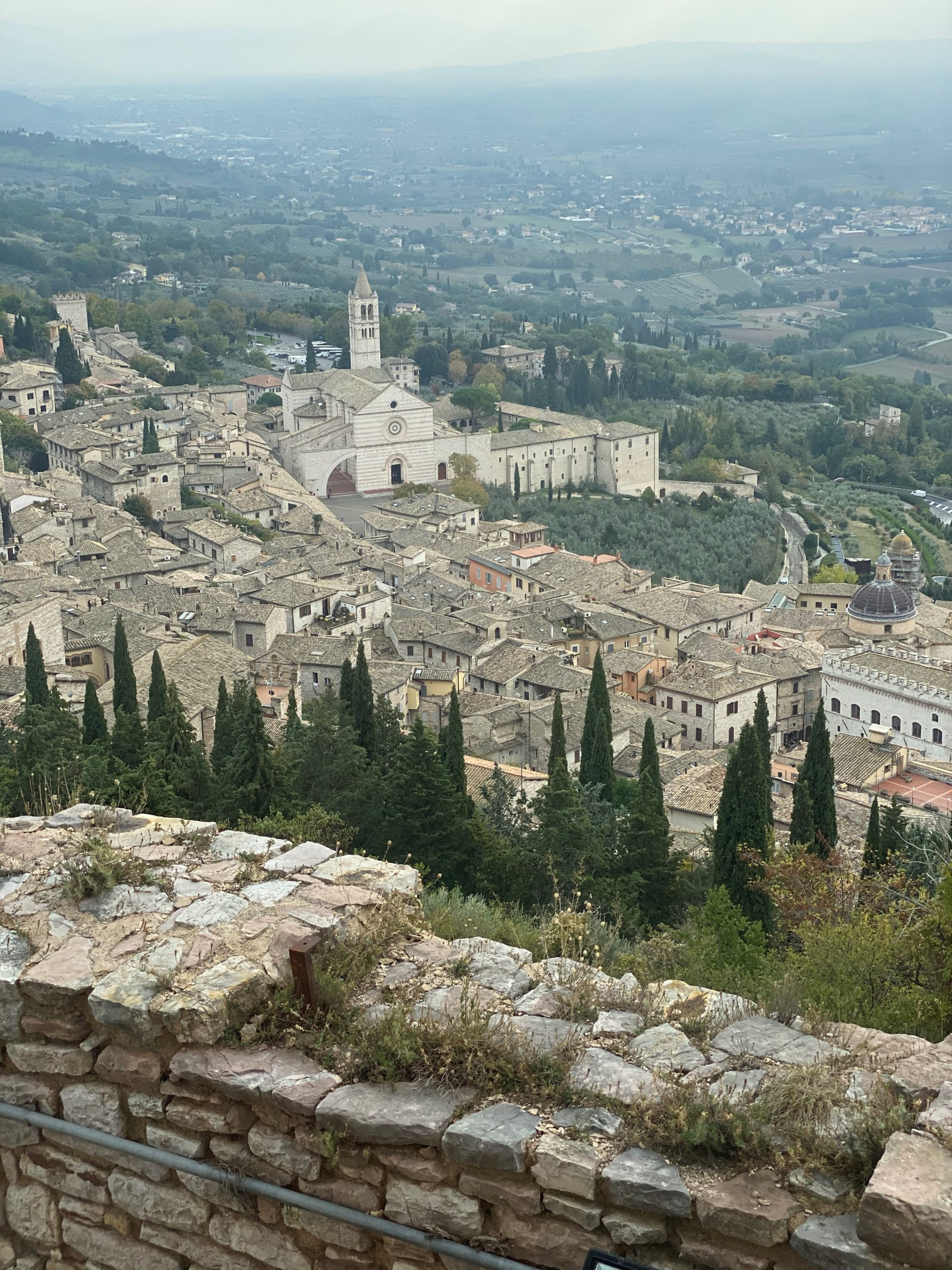 Assisi St Clair from Roman Ruins